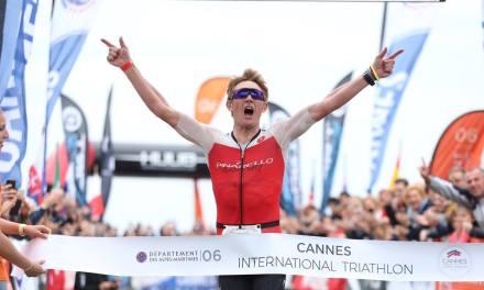 Vencen Wurf y Pedersen en el Cannes International Triathlon