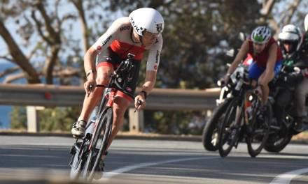 Con un tiempo récord en la bici, Cameron Wurf gana el IM Australia