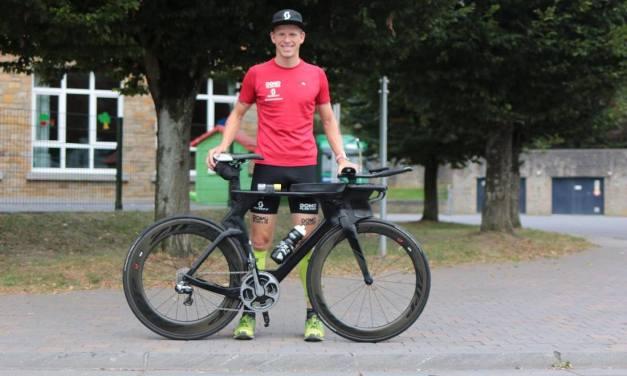 Pieter Heemeryck está siendo la sensación en las distancias 70.3 en este momento