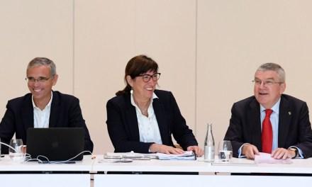 Debate Thomas Bach, presidente del COI, futuro y presente del triatlón