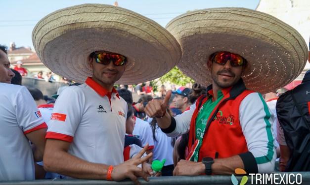 Mexicanos en desfile de naciones en Lausanne