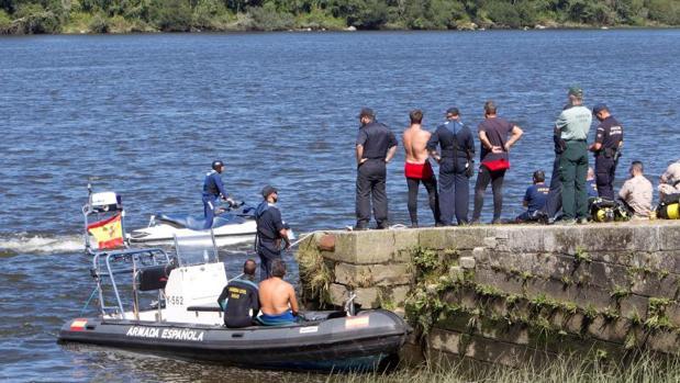Hallan cuerpo de triatleta portugués desaparecido en prueba en Pontevedra