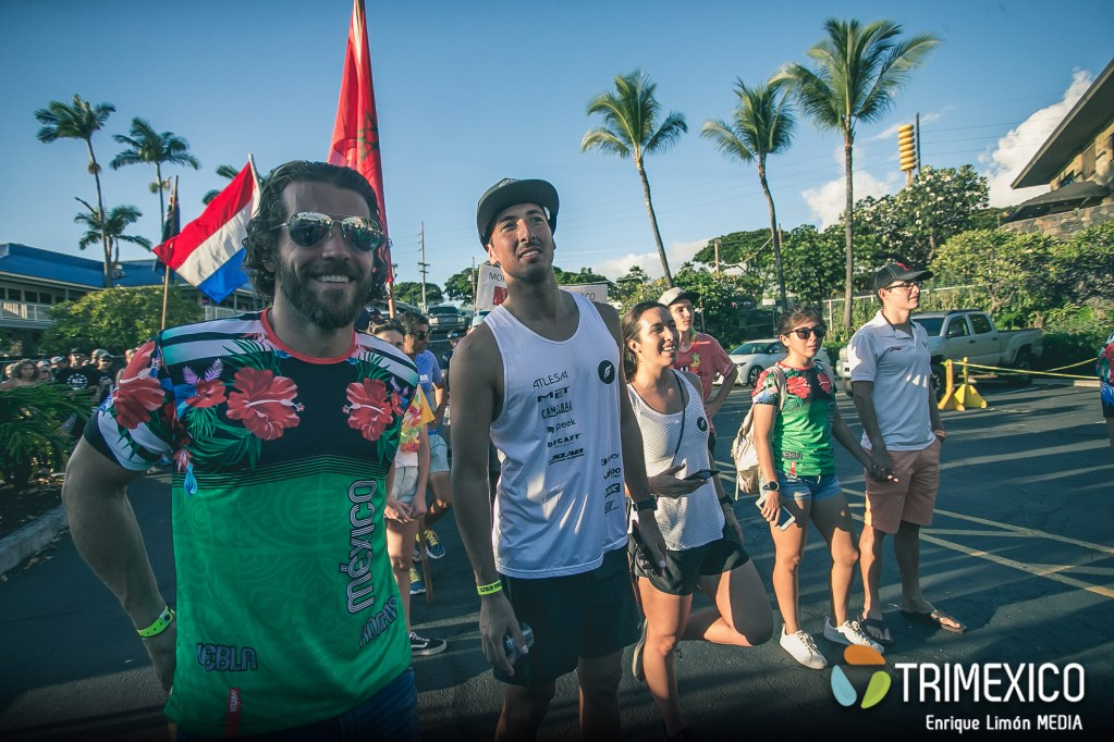 Mexicanos en Ironman World Championship Kona 2019