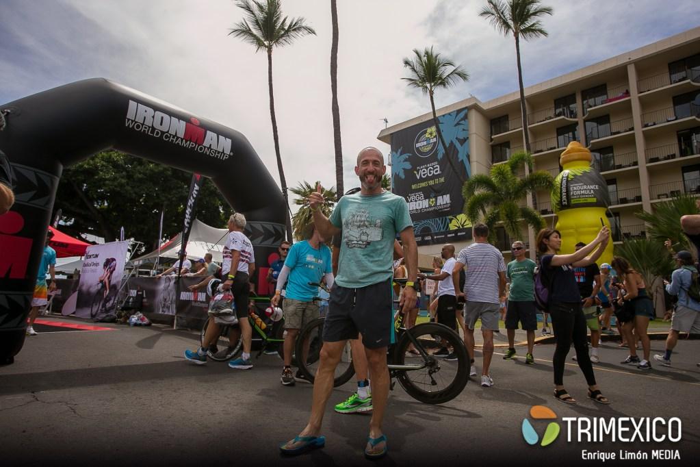 Check in Ironman World Championship kona 2019