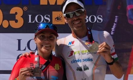 México obtiene la plata con Serrano y el bronce con Carreño en el 70.3 de Los Cabos