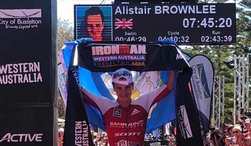 Obtiene Alistair Brownlee su pase a Kona 2020 al ganar el IM Western Australia