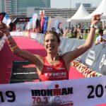 El noruego Kristian Blummenfelt y la británica Holly Lawrence triunfan en el 70.3 de Bahréin