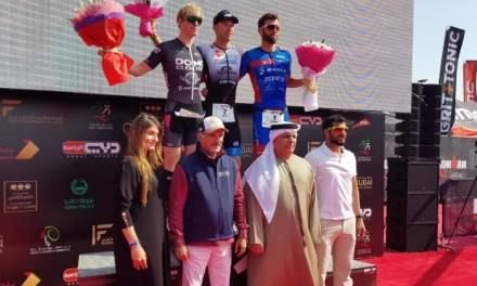 Ofrece Aernouts una exhibición de grandes para ganar el 70.3 de Dubai