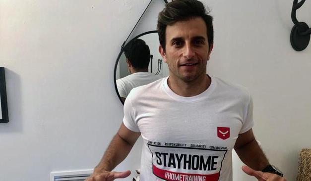 Triatleta olímpico sirio se enfoca en la lucha contra el Covid-19