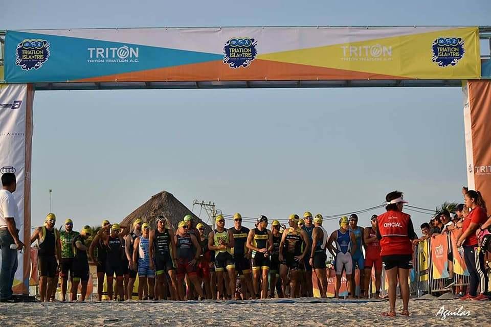 En un mes se corre la edición 2021 del Triatlón Isla de Tris
