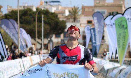 Vencen Nadal y Kumhofer en el Triathlon Portocolom