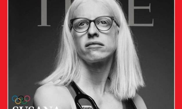 Es portada la para triatleta española Susana Rodríguez de la revista TIME