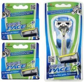 Dorco Pace 6 Plus- Six Blade Razor