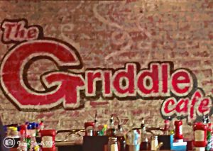 Breakfast LA California The Griddle Cafe Sign