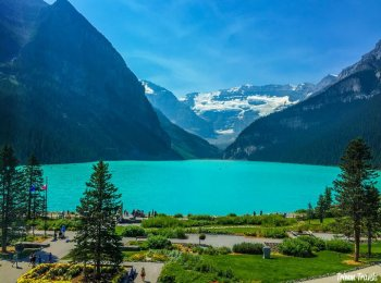 Lake Louise Banff Late Summer