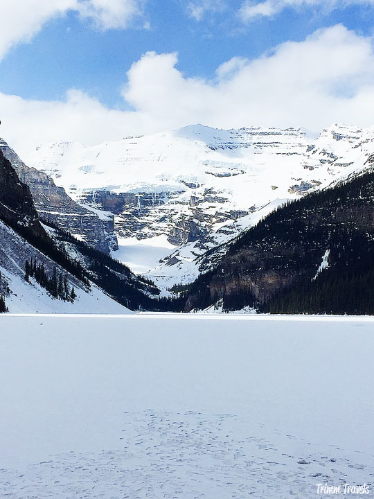 Lake Louise Banff Mid Spring