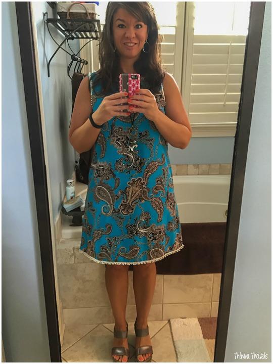 Fashion Shots Summer Turquoise Sleeveless Sheath Dress