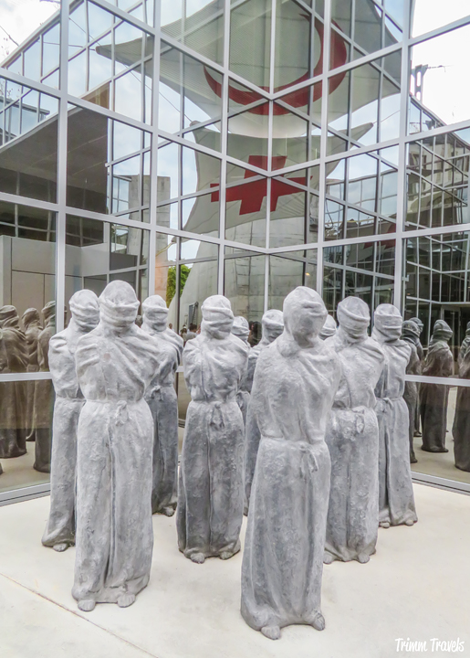 Victims' Monument at the Red Cross Museum Geneva