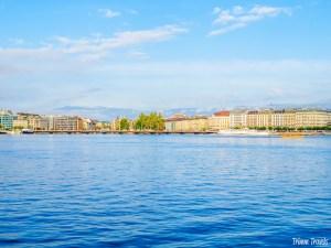 Geneva from Lake Geneva