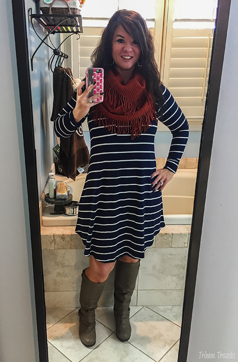 Fall Game Day Rivalry Dress