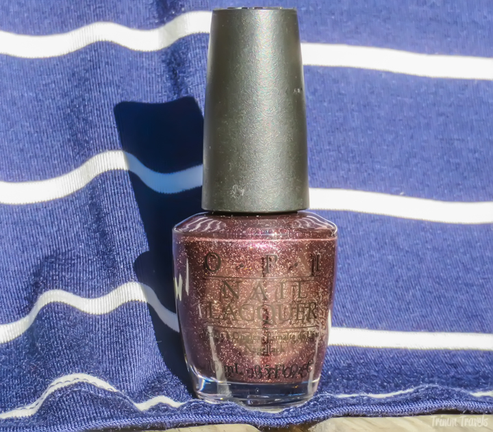 Fall Game Day Rivalry Dress OPI Color