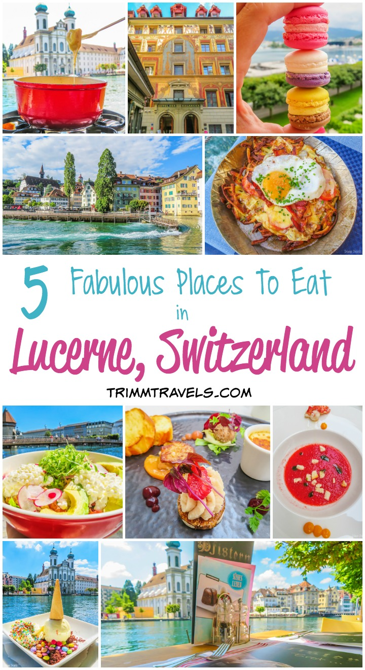 5 Fabulous Place To Eat Lucerne Switzerland Title