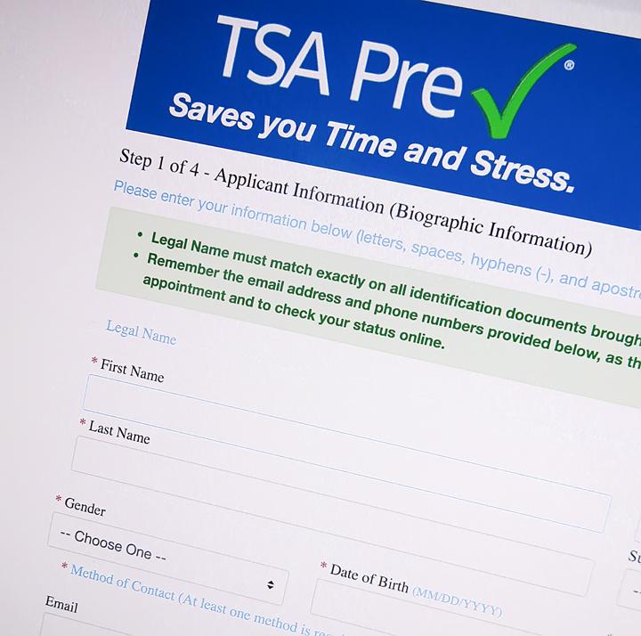 applying for global entry tsa precheck