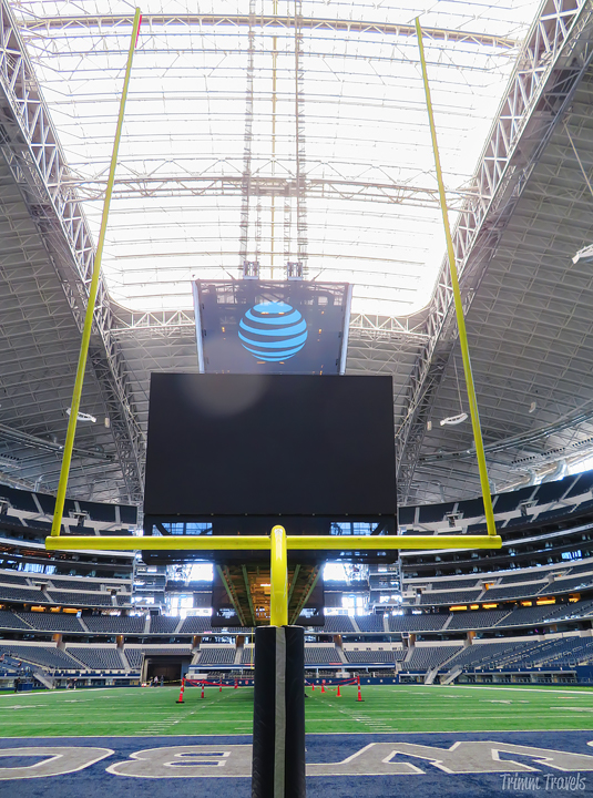 tour AT&T Stadium world's largest domed structure and where to eat Arlington Texas