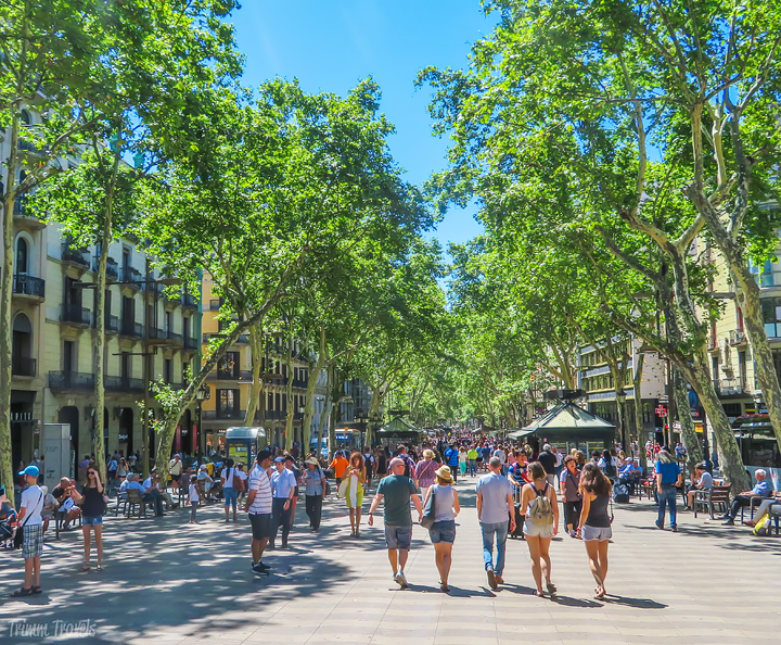 Las Ramblas Best Places to See First Time Visitor Barcelona Spain