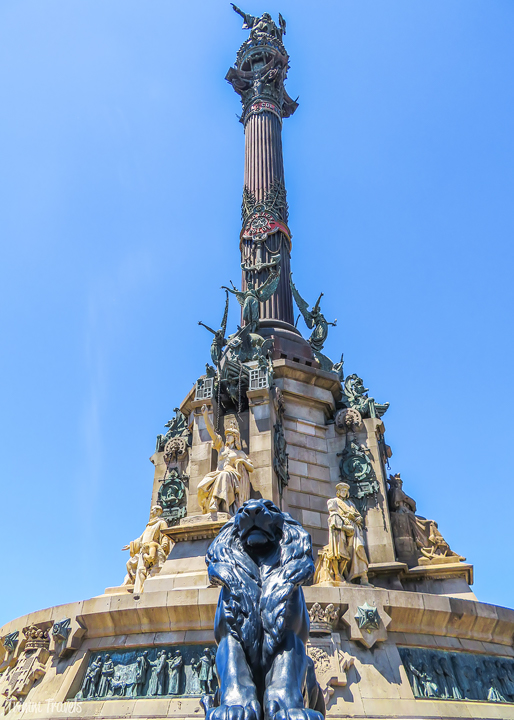 Monument a Colom Columbus Monument Best Places to See First Time Visitor Barcelona Spain