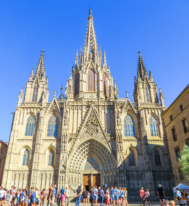 Catedral de Barcelona Barcelona Cathedral Best Places to See First Time Visitor Barcelona Spain