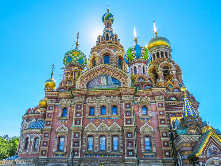Church of the Savior on Spilled Blood in St Petersburg, Russia