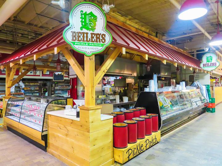 Beiler's doughnuts at Reading Terminal Market- unique restaurants philadelphia