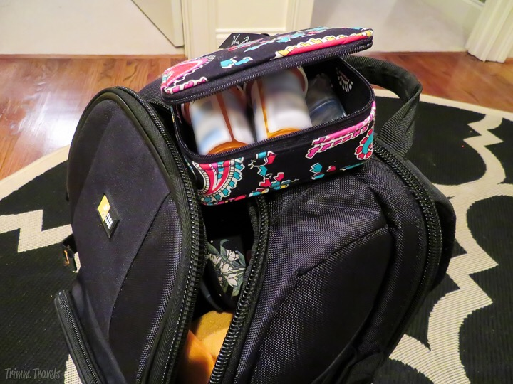 medications packed for carry-on bag-tips for easy packing process