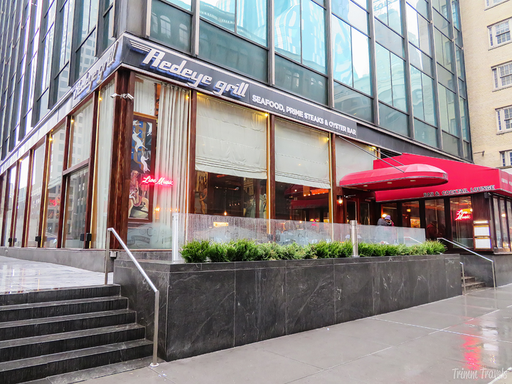 exterior of Redeye Grill in New York City