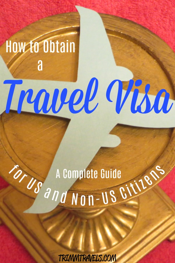 Pin created for Pinterest with title-Travel Visa