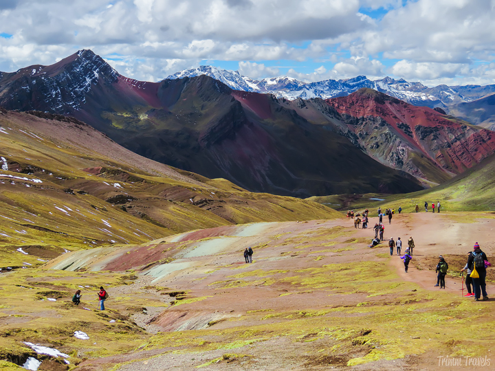 another shot on the way back down from Rainbow Mountain Peru