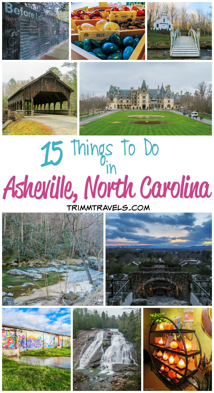 If you're heading to Asheville you might be wondering what all there is to do besides hiking. The answer is A LOT! There is something for everyone from the adventurer to the spa-lover on this list of 15 things to do in Asheville North Carolina!