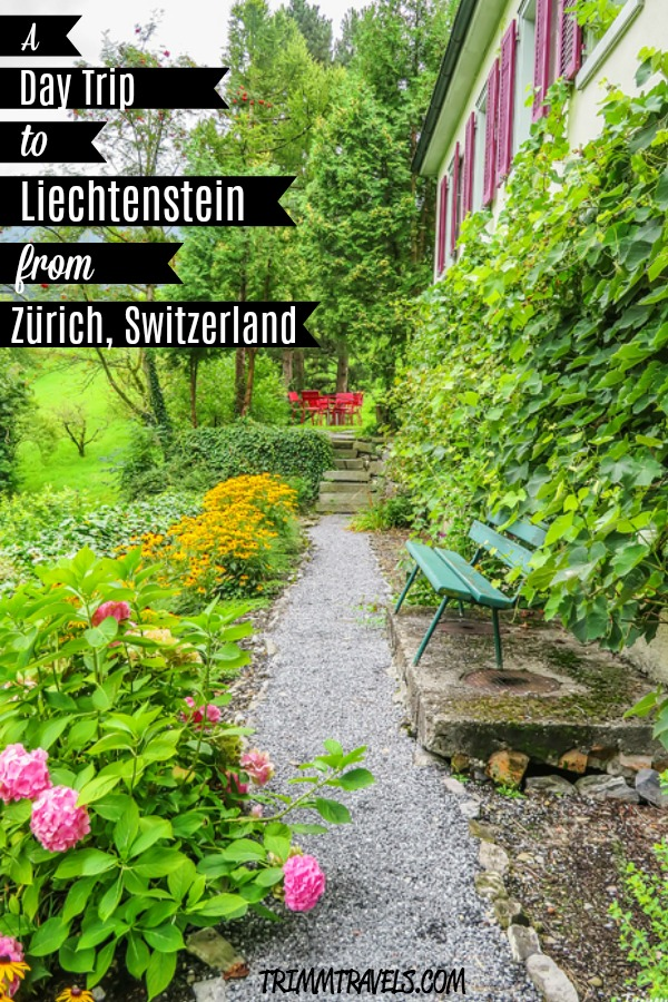 Liechtenstein and Switzerland. Two countries. One day. See how to make this happen here in A Day Trip to Liechtenstein from Zürich, Switzerland! #liechtenstein #zurich #switzerland #daytrip #travel #guide #train #destination #europe