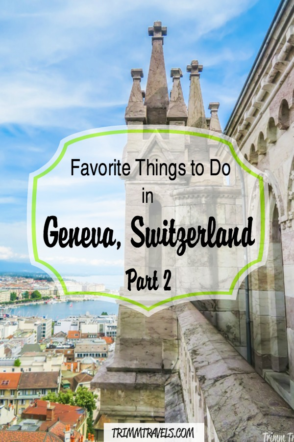 Join me as I take on activities such as watchmaking, assembling Swiss Army Knives and seeing gorgeous panoramic city views of Geneva! You won't want to miss these Swiss bucket list experiences! #geneva #switzerland #europe #whattodo #thingstodo #activities #bucketlist #travel #destinations