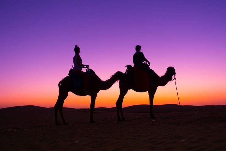 Best Morocco Luxury Desert Camp: Glamping the Sahara with