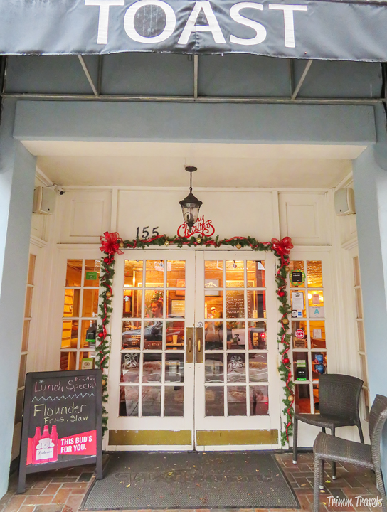 Eating locally is a great way to get to know any city well. These places on my personal Charleston food tour will give you THE southern culinary experience! #charleston #southcarolina #southern #foodie #food #restaurants #foodtour #culinary #eat #usa