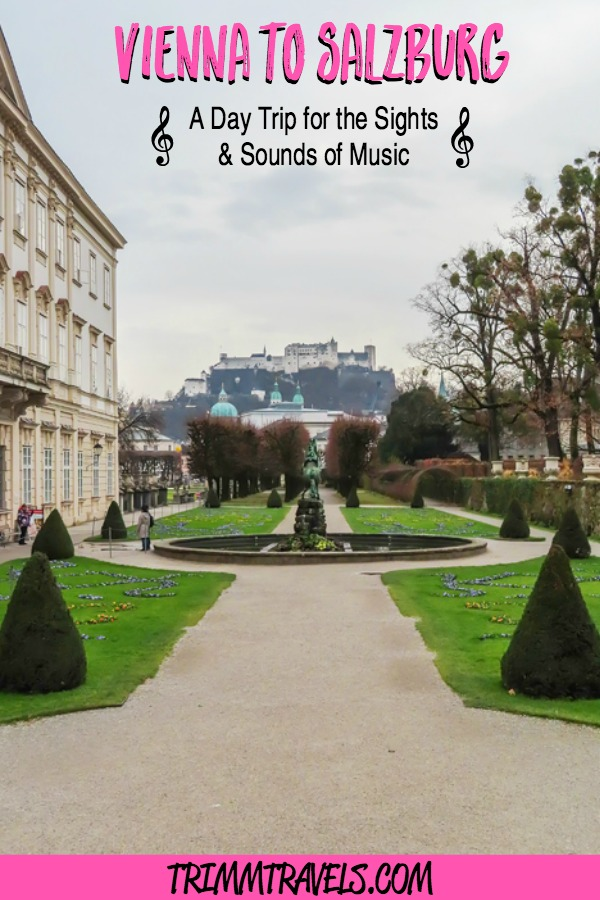 My day trip from Vienna to Salzburg will be one I never forget...If you love the Sound of Music, Mozart and baroque architecture, then this trip is for you! #vienna #salzburg #austria #daytrip #europe #travel #destinations #soundofmusic #music #mozart