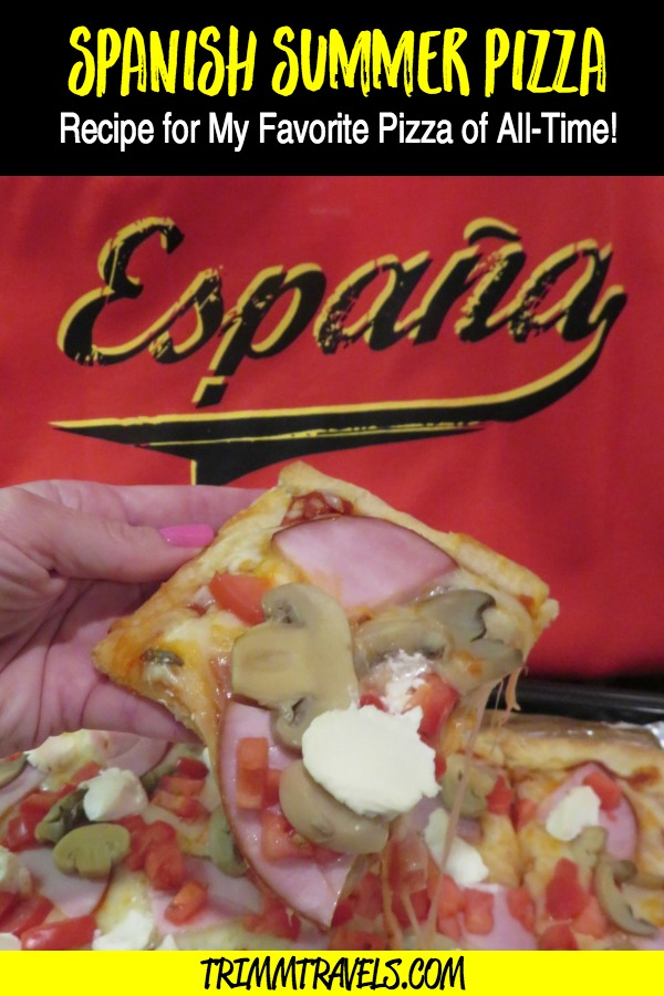 This isn't where I thought I would discover my most favorite pizza. However, I did and now I'm sharing it with you! You won't believe its star ingredient! #travel #recipes #recipe #pizza #spain #spanish #food #foodie