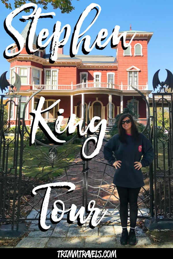 I'm a huge fan of the best-selling author, Stephen King. I've read the books and seen the movies. So, I had to take this Stephen King tour in Bangor, Maine! #stephenking #tours #bangor #maine #bangormaine #film #movies #books #horror #travel #destinations #traveltips