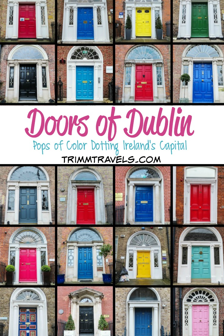 Those famous doors of Dublin. Curious as to how they became so iconic? Want to know where to find them? Discover the interesting stories and locations here! #dublin #doors #ireland #irish #visitireland #irishicon #europe #visitdublin #travel