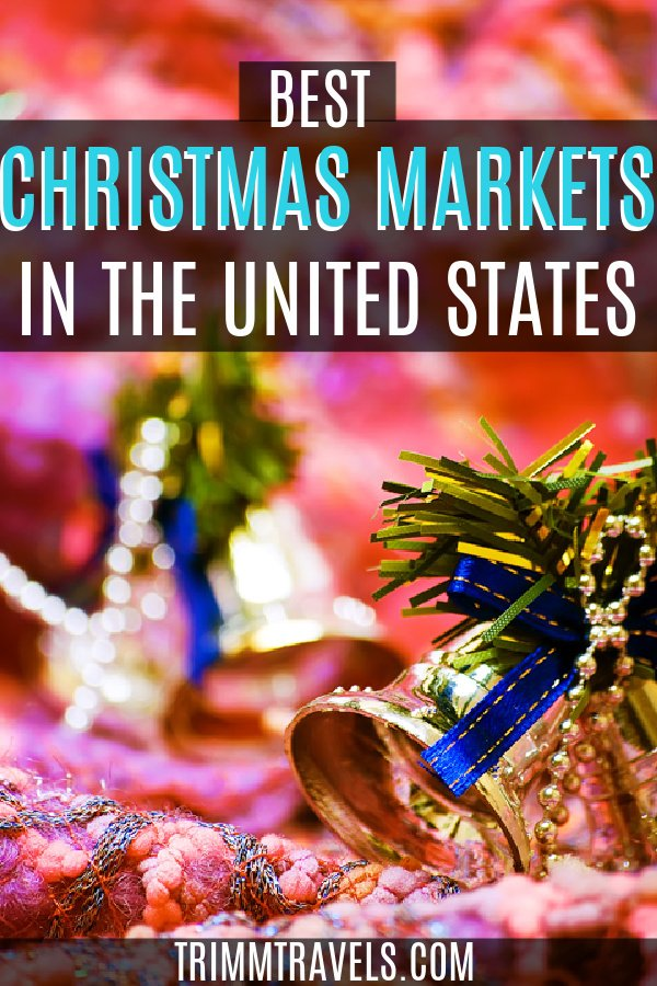 Christmas is a magical time of the year. Visiting one of these best Christmas markets in the USA is a great way to get on your holiday cheer! #christmas #holiday #markets #usa #unitedstates #travel