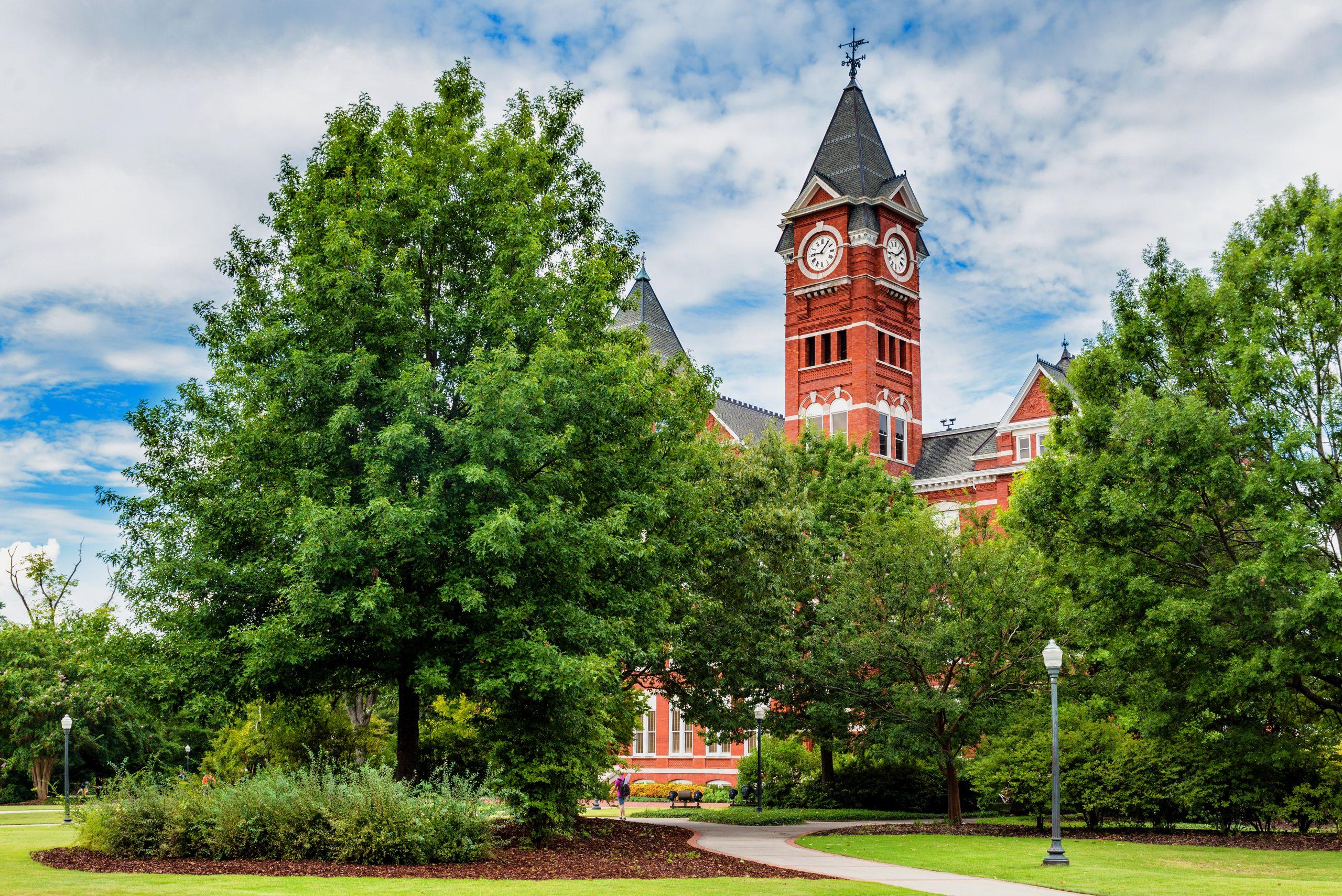 Samford Hall at Auburn University in Alabama