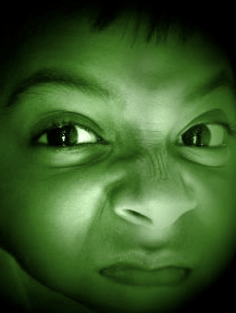 (cute but angry hulk face)