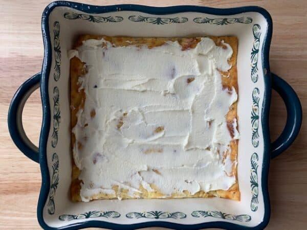 Keto Meat Lasagna Layer 2